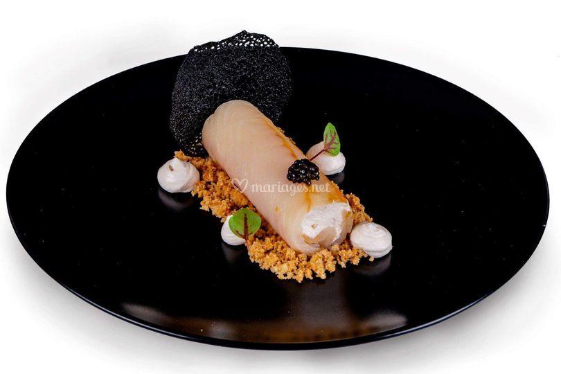 Duchesse esturgeon & caviar