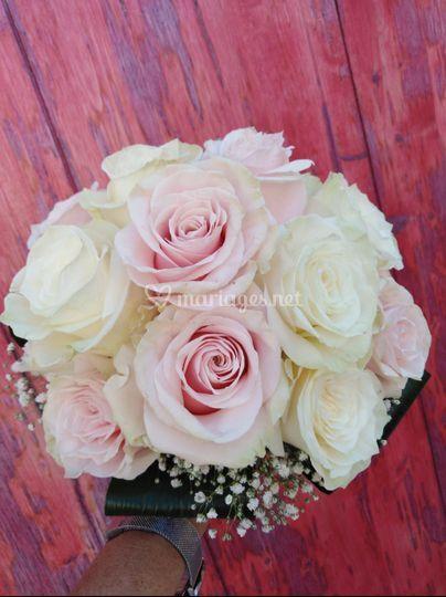 Bouquet de mariéé doux