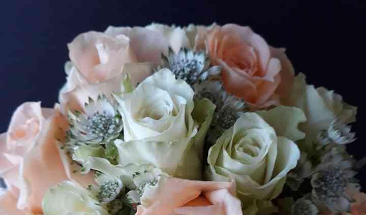 Bouquet de mariéé romantique
