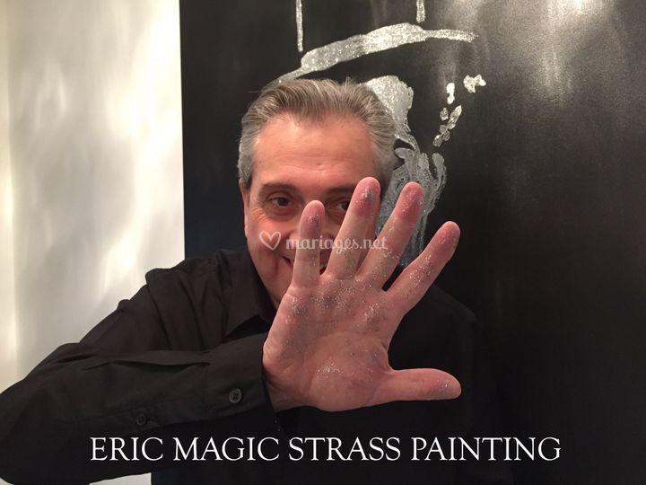 Eric Magic Strass Painting