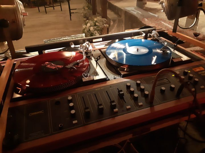 Table de mixage 70's