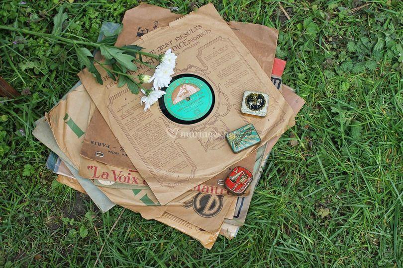 Quelques disques d'époque