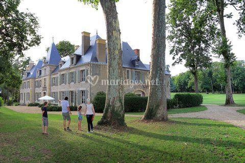 L'entrée au Château