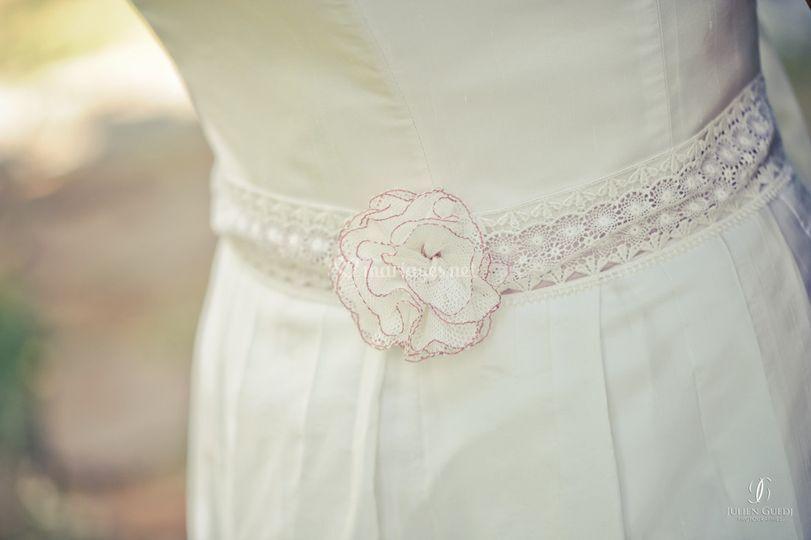 Détail robe grâce
