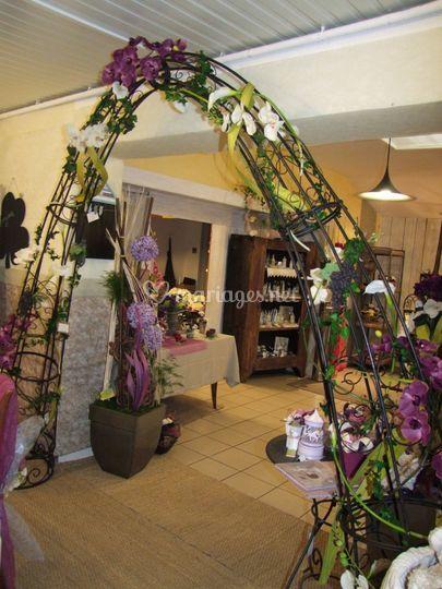 Arche végétale en location