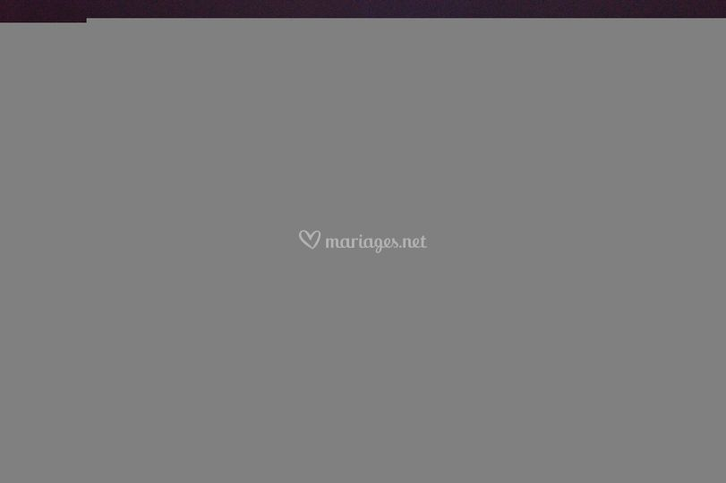 Mariage light painting