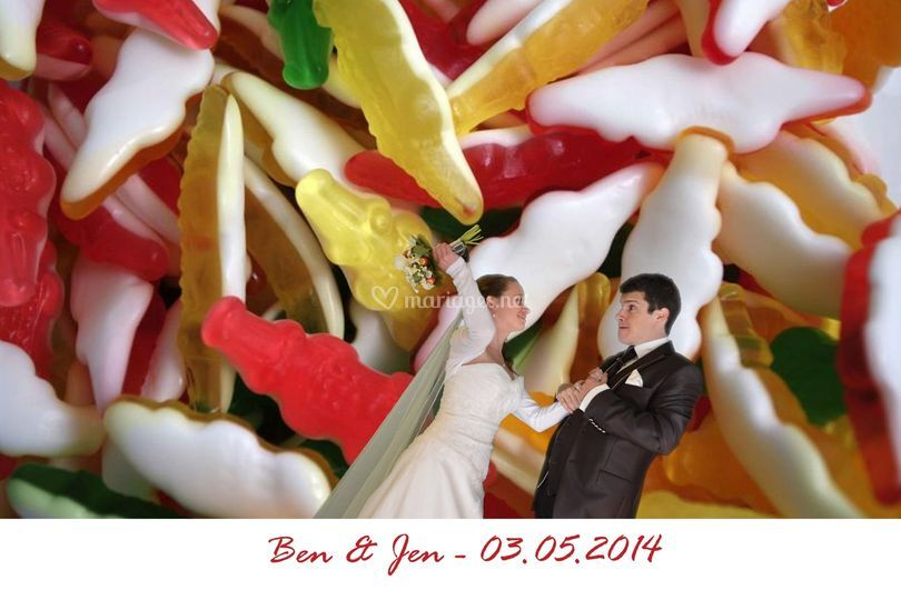 Mariage photo montage