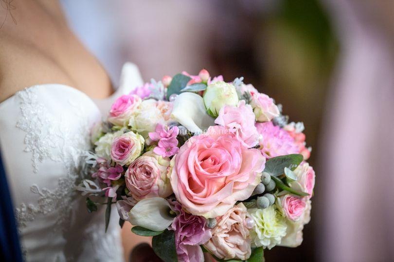 "Bouquet de mariée ""bijou"""