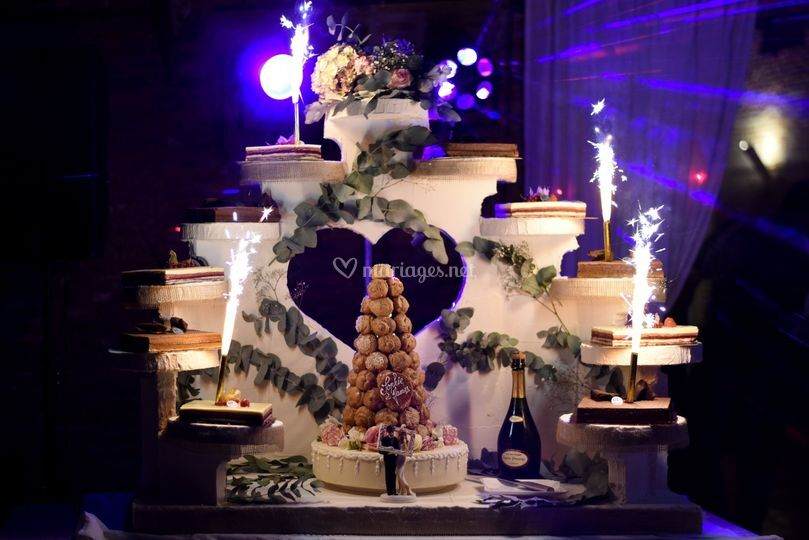 Gâteau des mariées