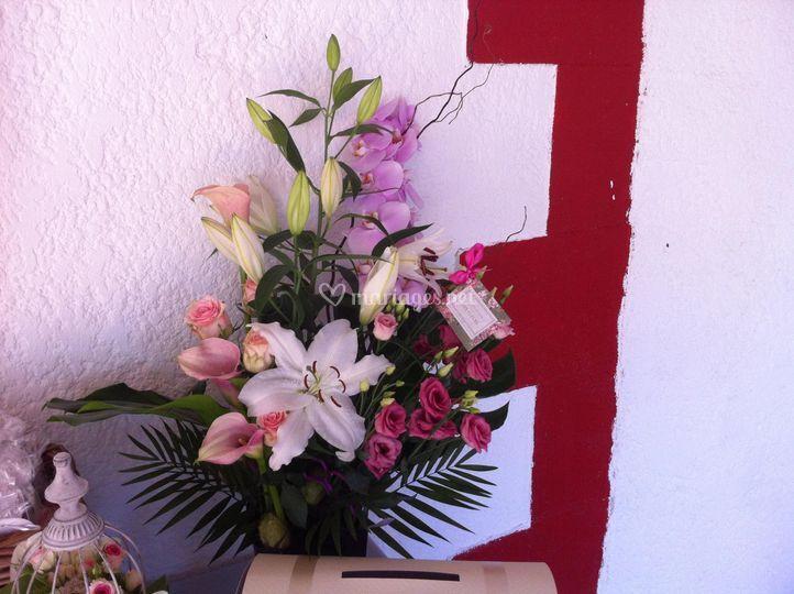 Bouquet d'accueil