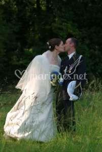 Un baiser dans les champs
