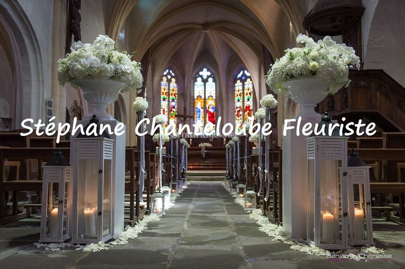 Fleurissement d'Eglise