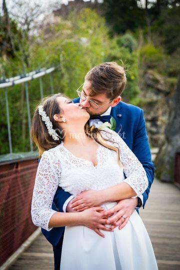 Le baiser sur le pont