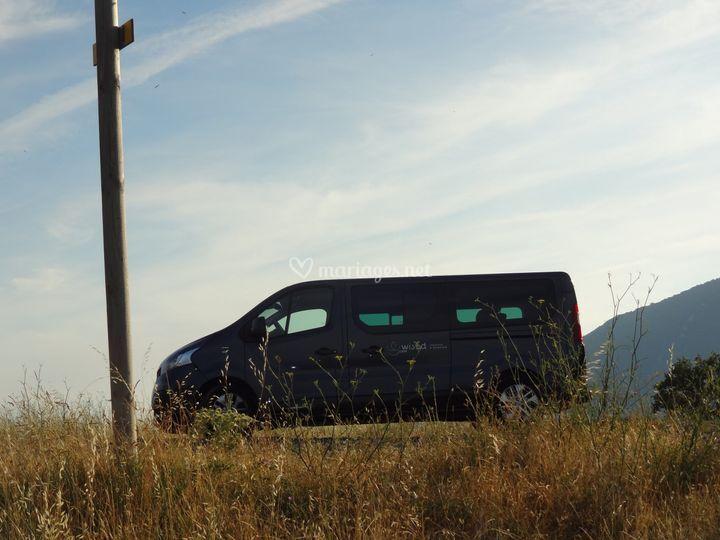 Minibus en balade