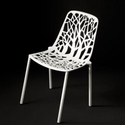 Chaise aluminium de repas