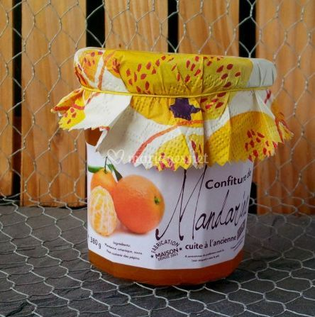 Confiture de mandarines
