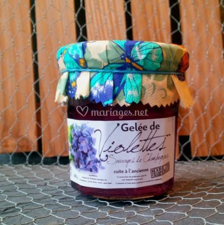 Gelée de violettes
