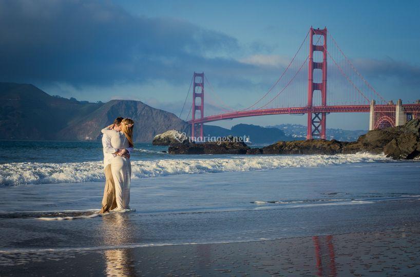 Mariage à San Francsico