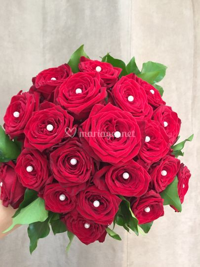 Le rouge de l'amour