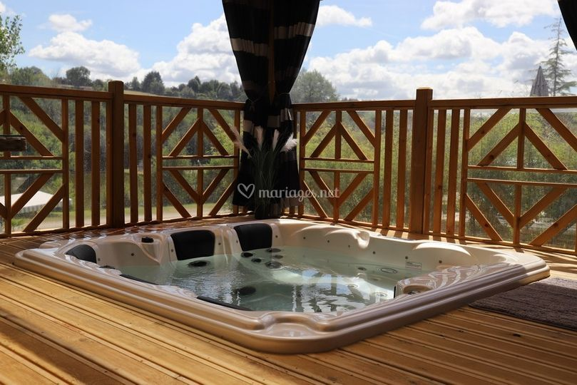 Location luxe jacuzzi