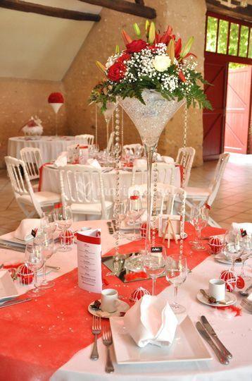 Location vases martini