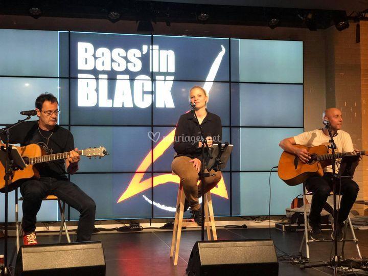 Bassín Black version acoustiqu