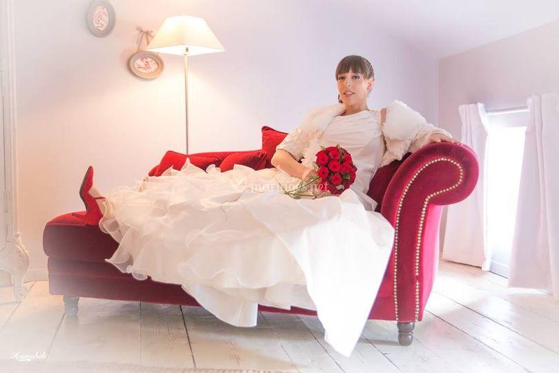Gîte chambre mariés