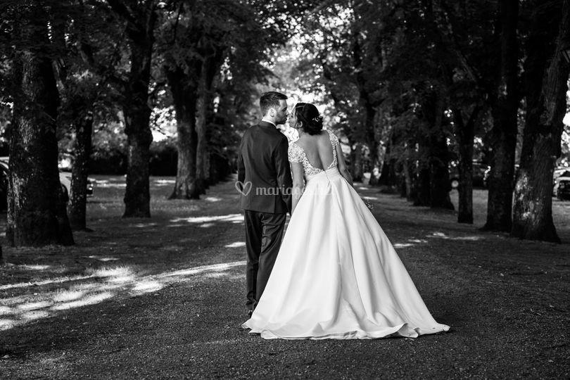 Couple au château de Vaugrigno