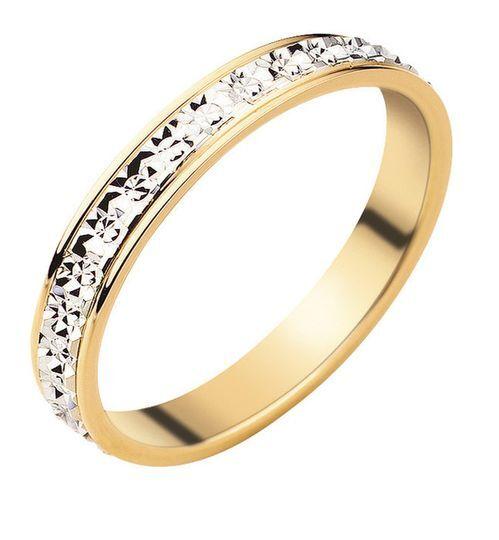 Alliance diamantée femme