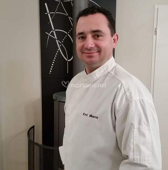 Le Chef Cyril MARTIN