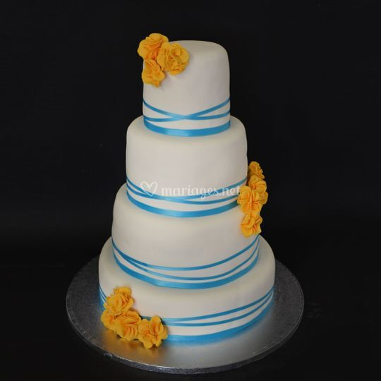 Wedding Cake 80 personnes