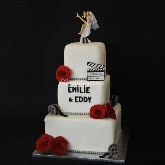 Wedding Cake 100 personnes
