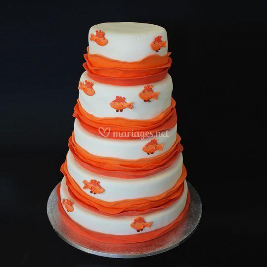 Wedding Cake 50 personnes (Eta