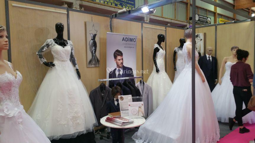 La boutique AD Couture au salon du mariage b1b0ae3a0a6