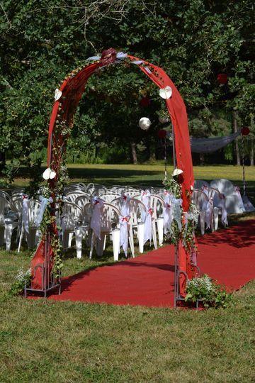 Arche cérémonie laîque