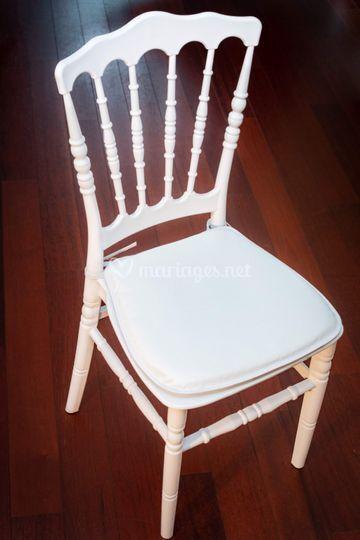 Chaise napoléon et assise