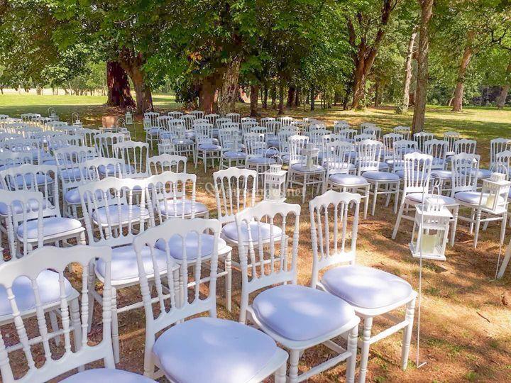 Mariage chaise napoléon