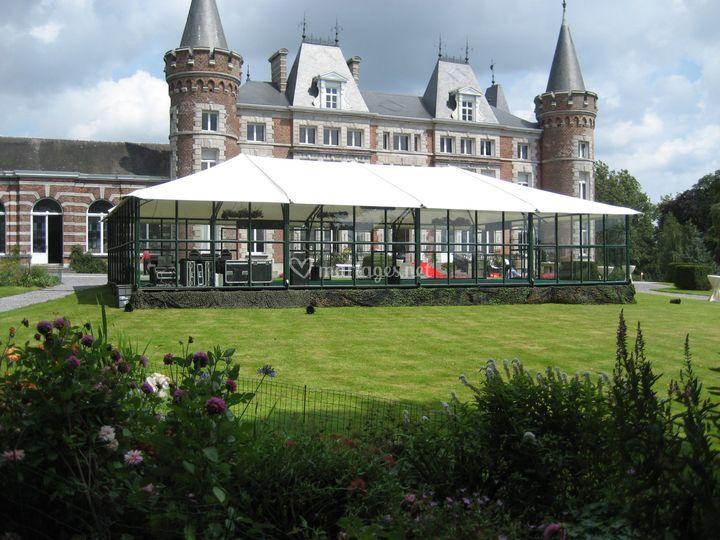 L'Orangerie se fond dans des cadres prestigieux et dans la nature