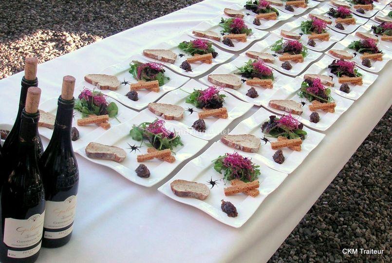 Ckm traiteur - Quantite foie gras par personne ...