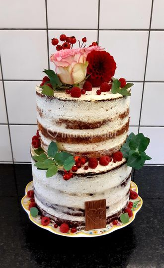 Wedding cake champêtre