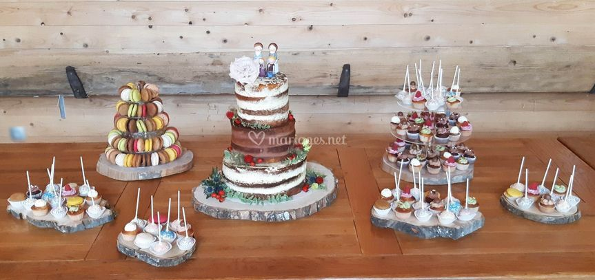 Wedding cake et mignardises