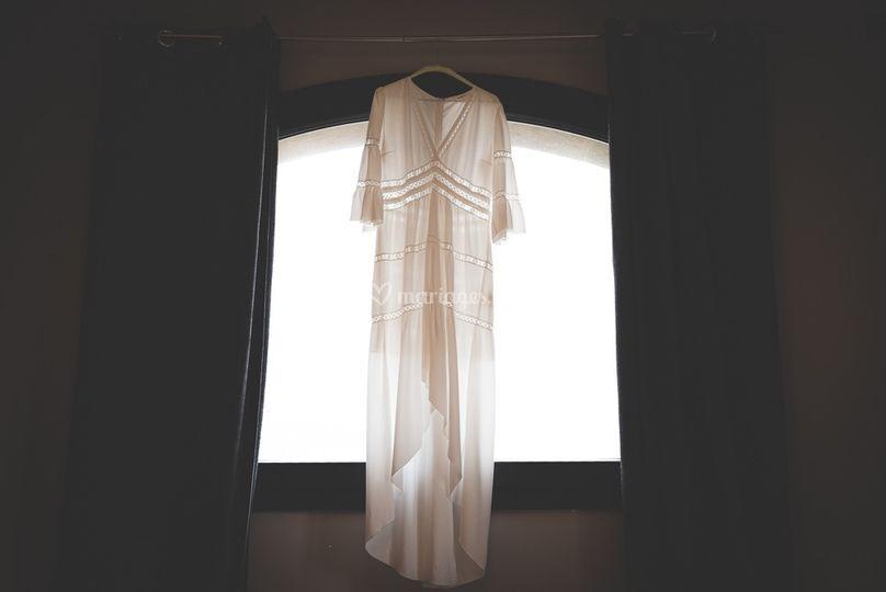 L'élégance d'une robe
