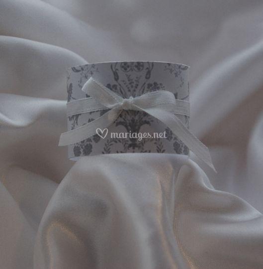 Ronds de serviette trianon