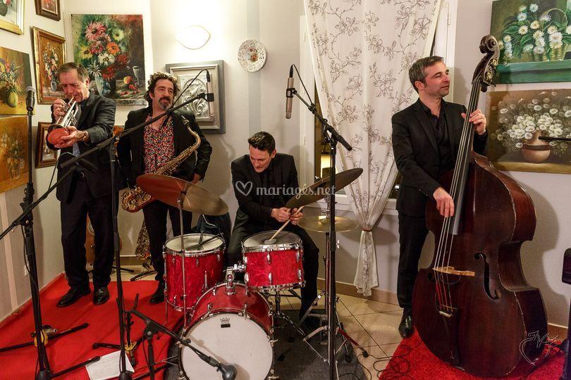 Le Jazz Band avec Eric Luter