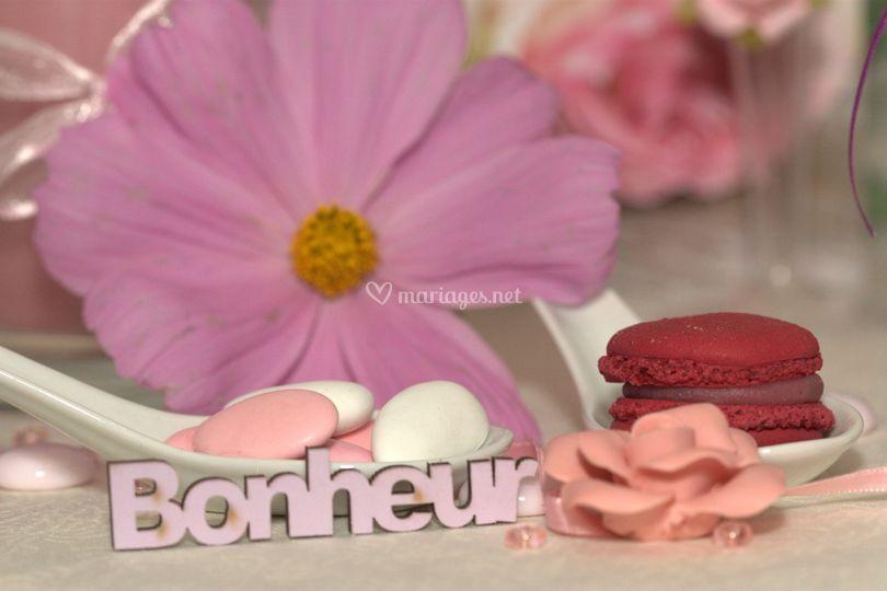 Votre bonheur en rose!
