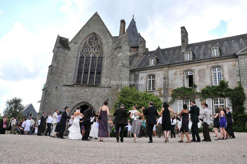 Château des iffs ambiance