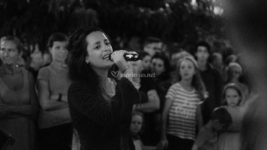 Maëla , la chanteuse....