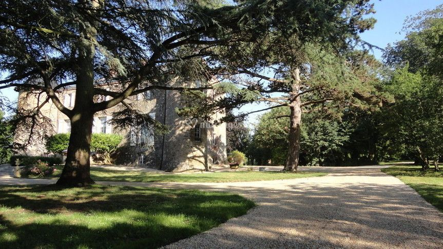 L'allée qui mène au Château(2)