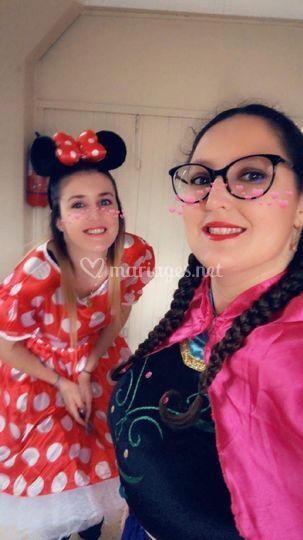 Anna et Minnie
