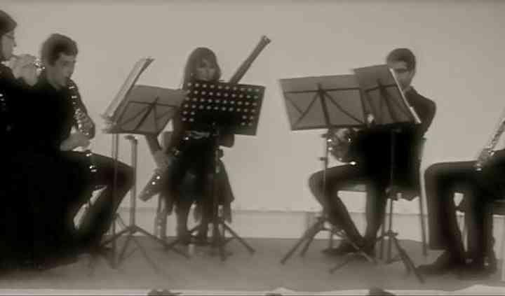 Quintette Opus V sur scène